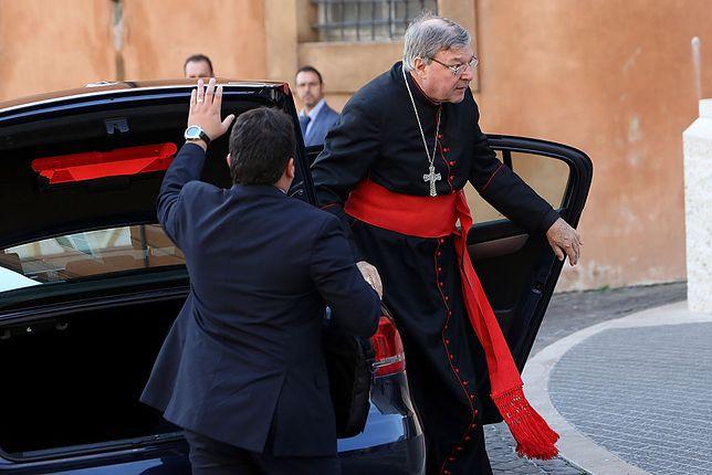 Bliski doradca papieża oskarżony o przestępstwa seksualne. Kardynał będzie walczył o dobre imię