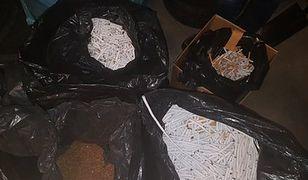 Wpadka producentów nielegalnych papierosów. Policjanci przechwycili też narkotyki