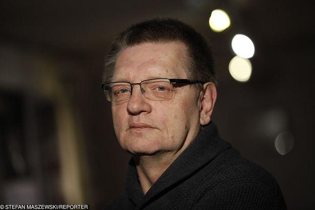 Płk Piotr Wroński, były oficer Służby Bezpieczeństwa PRL