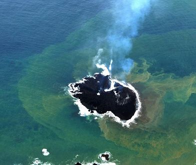 Japonia - nowa wyspa na Pacyfiku ciągle rośnie