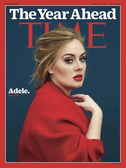 """Zjawiskowa Adele na okładce magazynu """"Time"""""""