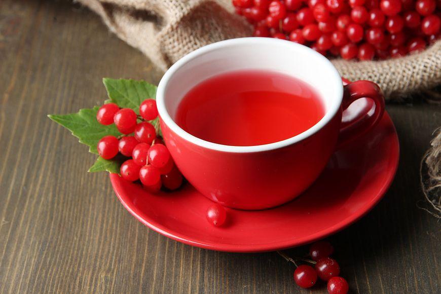 Uspokajająca herbata z kaliny