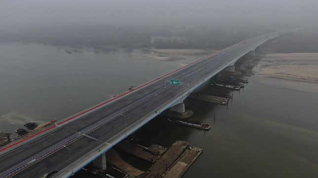Warszawa. Most Południowy będzie teraz mostem Anny Jagiellonki