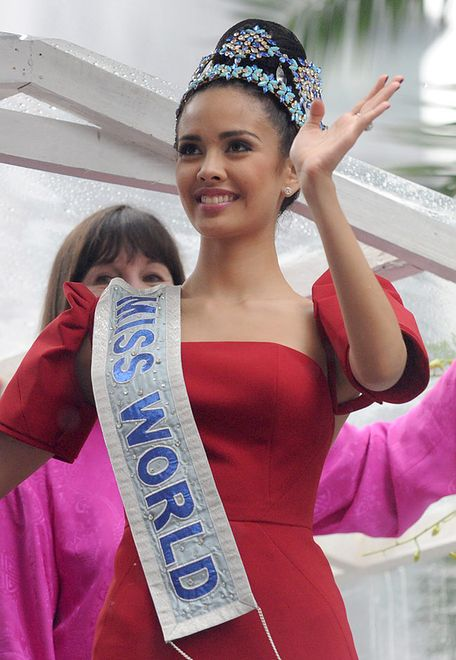 Filipińczycy zakochani w swojej nowej Miss Świata!