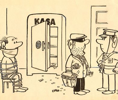 Policja na wesoło [RYSUNKI]