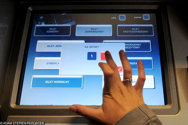 Sprzedające bilety automaty czasem potrafią zadziwić podróżnych