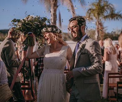 Monika i Javier pobrali się w hiszpańskiej Maladze 25.05.2018 roku