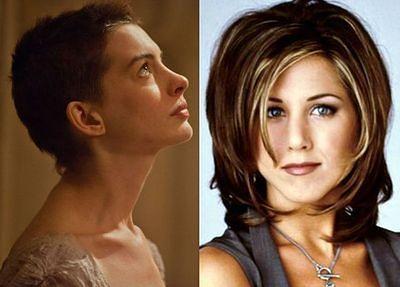 """Fryzura Anne Hathaway """"wygryzła"""" styl Jennifer Aniston"""