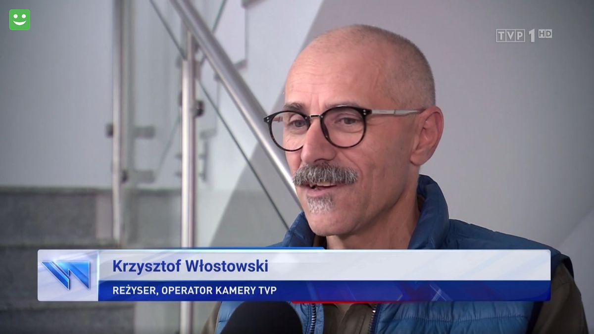 """Krzysztof Włostowski opowiedział o swoim drugim życiu w """"Wiadomościach"""""""