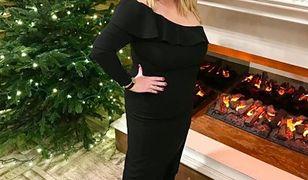 Katarzyna Niezgoda w świątecznym wydaniu. Elegancko!