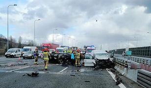 Śląskie. Koniec utrudnień po wypadkach na autostradzie A4 w pobliżu Sośnicy