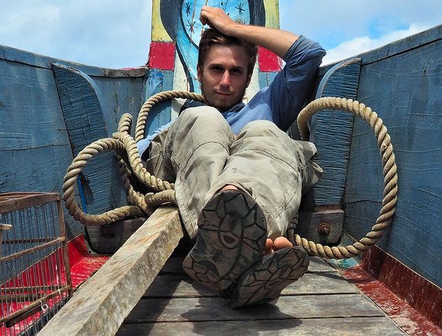 Tomasz Owsiany spędził niespełna pół roku w Gujanie Francuskiej