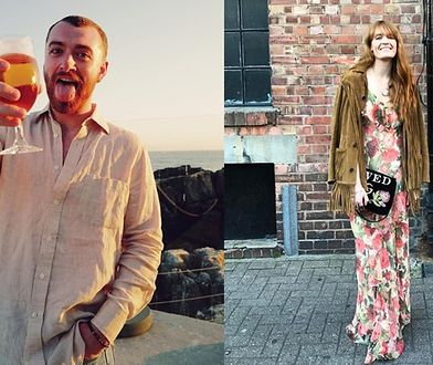 Sam Smith i Florence Welch