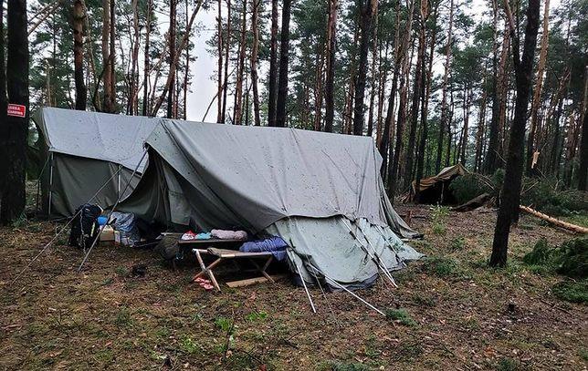Obóz harcerski w Kostkowicach