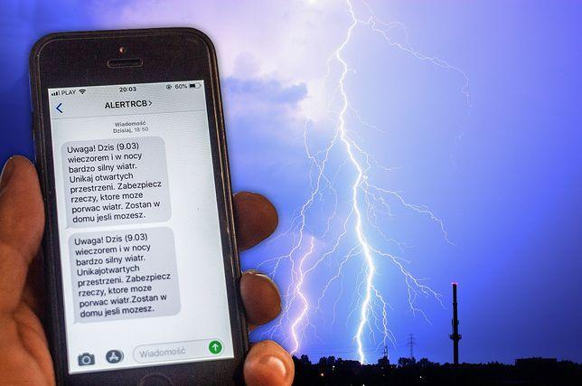 """""""Alert RCB nie działa"""". Eksperci krytycznie o SMS-owych ostrzeżeniach"""