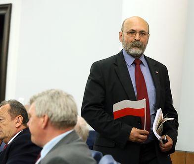 Bogdan Pęk, były senator PiS, wystartuje z listy tego ugrupowania do sejmiku małopolskiego