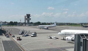 Płyta portu lotniczego we włoskim Trieście