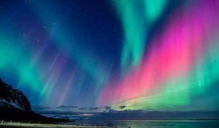 Najlepsze miejsca na obserwowanie zorzy polarnej to okolice bieguna północnego