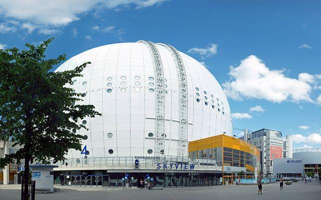 Globen to hala widowiskowa w Szkokholmie, która w modelu układu słonecznego pełni funkcję Słońca