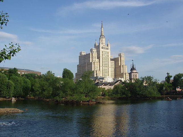 Wieżowce Moskwy - dom mieszkalny na Placu Kudryńskim