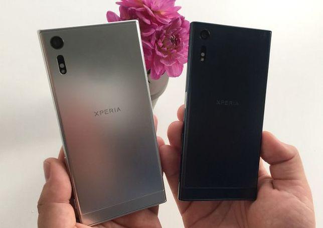 Sony Xperia XZ (po lewej) i Sony Xperia X Compact (po prawej)