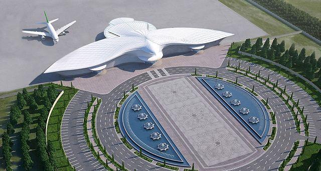 Wizualizacja nowego lotniska (fot. materiały prasowe)