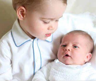 Pierwsze wspólne zdjęcie księcia Jerzego z księżniczką Charlotte