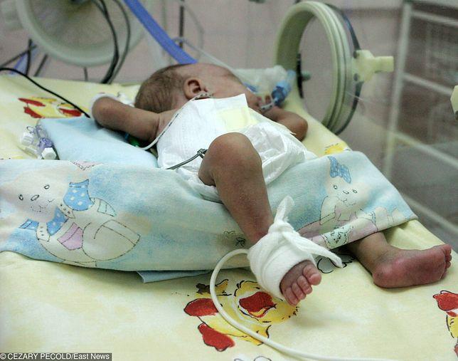 Dziecko trafiło na OIOM we wtorek
