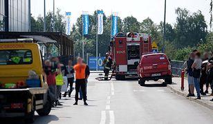 Sosnowiec. Wybuch gazu na parkingu przed Castoramą. Jak do tego doszło?