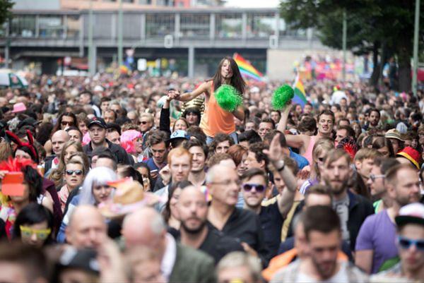 Parady gejów i lesbijek w Berlinie