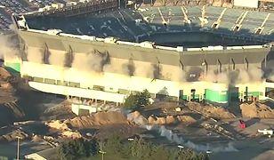 Stadion mimo wybuchu pozostał nienaruszony