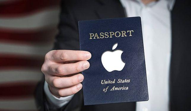 W przyszłości zamiast paszportów na lotniskach możemy też używać iPhone'ów