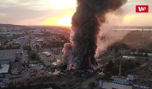 Trujący dym był odczuwalny nawet 30 km od Szczecina