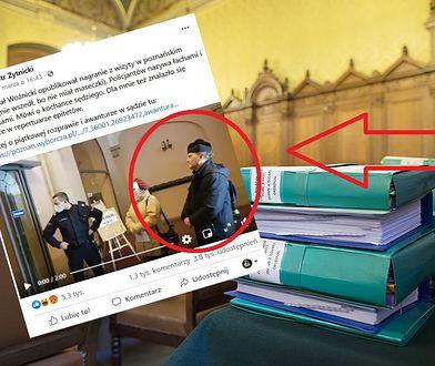 Poznań. Ksiądz bez maski nie wszedł do sądu. Poleciały wyzwiska