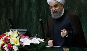 Prezydent Iranu Hasan Rowhani