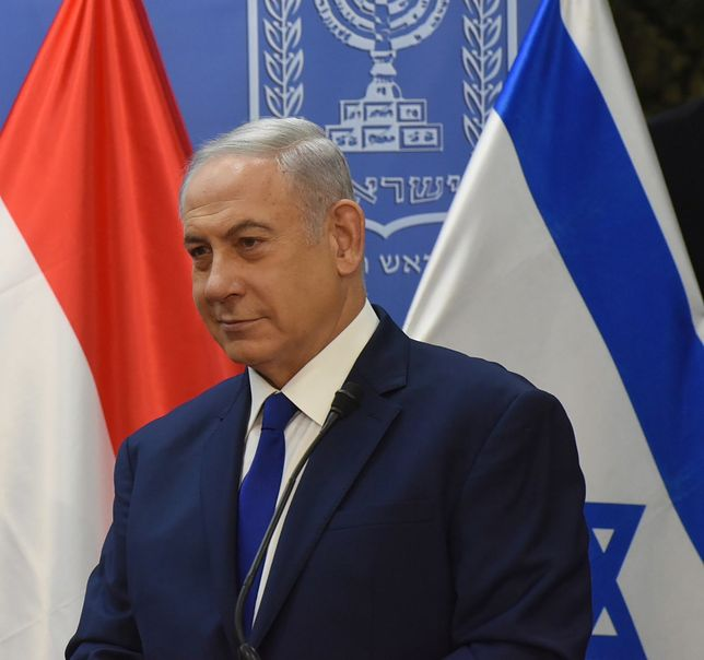 Benjamin Netanjahu nie krył zadowolenia po głosowaniu