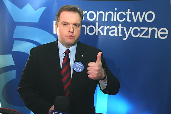 Piskorski przewodniczącym Stronnictwa Demokratycznego