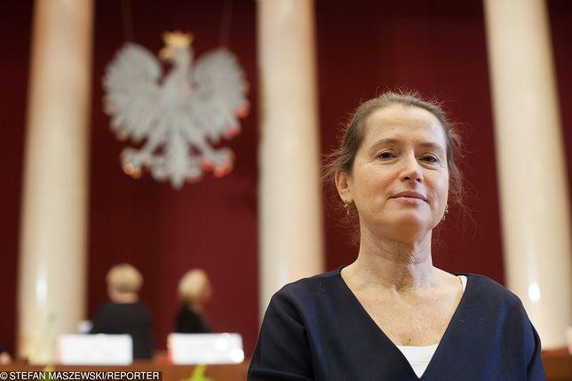 Wybory parlamentarne 2019. Monika Jaruzelska jest radną Warszawy