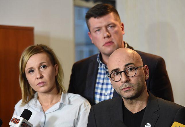 Do Sejmu kandydują: Magdalena Filiks, Jarosław Marciniak i Radomir Szumełda z KOD
