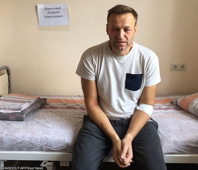 Aleksiej Nawalny (rosyjski opozycjonista) został skazany na 30 dni aresztu