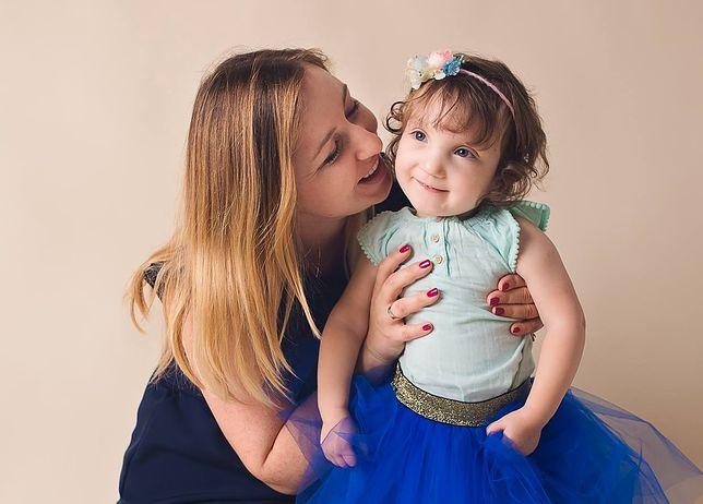 Kasia z córeczką Basią
