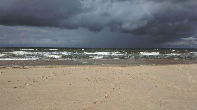 Temperatura wody w Bałtyku spadła do 17 st. C. Pogoda miała na to znaczący wpływ
