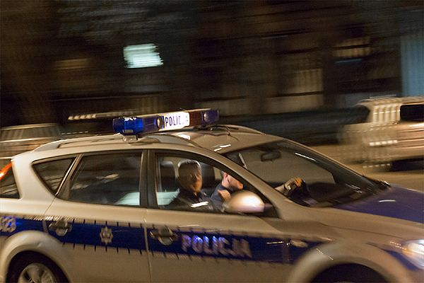Zamaskowani mężczyźni obrabowali bank w Pruszkowie