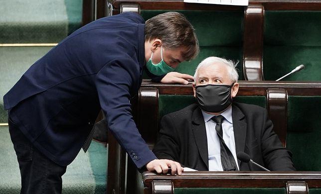 Rekonstrukcja rządu. Jarosław Kaczyński w Sejmie