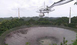 Radioteleskop używany przez projekt SETI@home