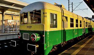 Odzyskana perełka - zabytkowy pociąg powrócił na tory