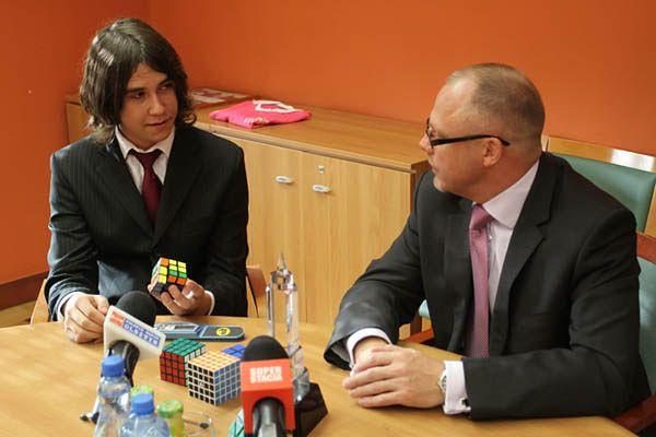Polski mistrz kostki Rubika