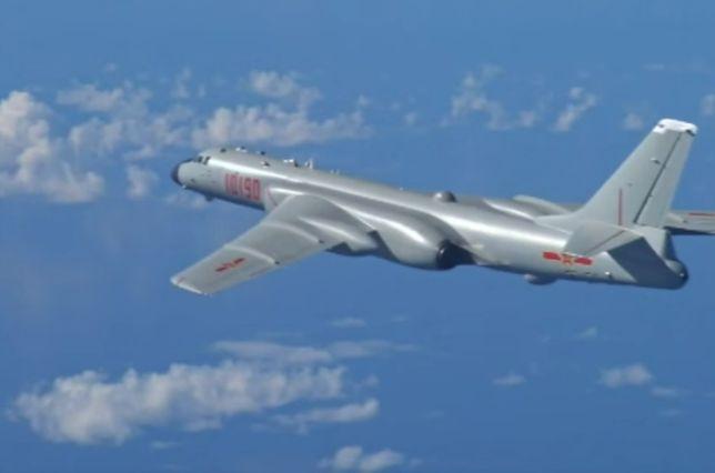 Xian H-6K zrzucił bombę nad terenem Chin