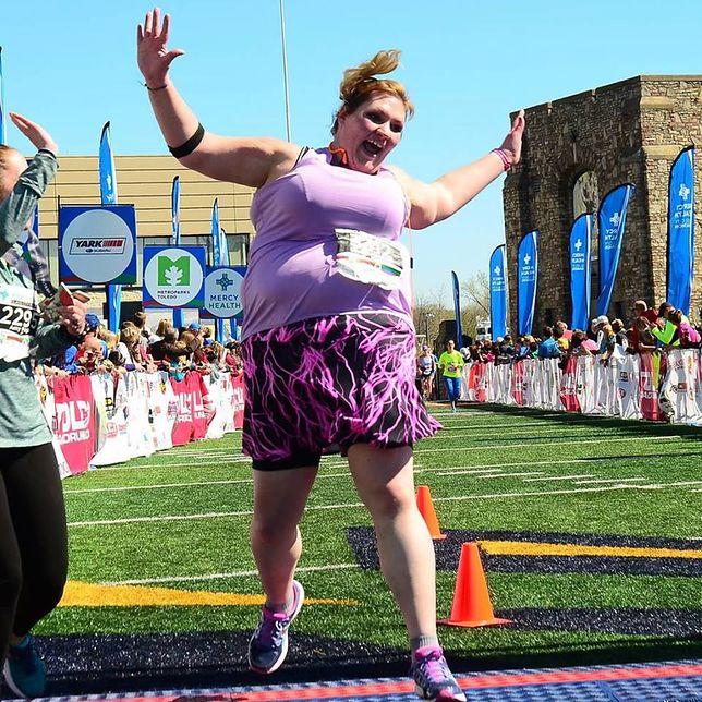 Udowodniła córce, że może wszystko. Krytykowana za wygląd mama ukończyła triathlon