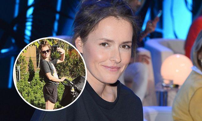 Olga Frycz pokazała zdjęcie ze spaceru z córką